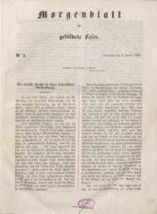 Morgenblatt für gebildete Leser, 1848, Donnerstag, 6. Januar 1848, Nr 5.