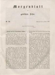 Morgenblatt für gebildete Leser, 1848, Mittwoch, 12. Januar 1848, Nr 10.