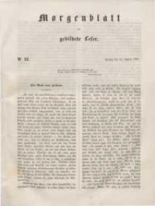 Morgenblatt für gebildete Leser, 1848, Freitag, 14. Januar 1848, Nr 12.