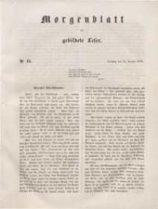 Morgenblatt für gebildete Leser, 1848, Dienstag, 18. Januar 1848, Nr 15.