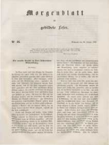 Morgenblatt für gebildete Leser, 1848, Mittwoch, 19. Januar 1848, Nr 16.