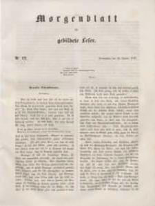 Morgenblatt für gebildete Leser, 1848, Donnerstag, 20. Januar 1848, Nr 17.