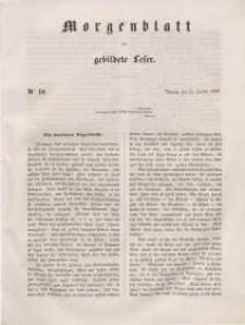 Morgenblatt für gebildete Leser, 1848, Freitag, 21. Januar 1848, Nr 18.
