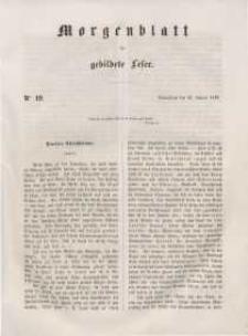 Morgenblatt für gebildete Leser, 1848, Sonnabend, 22. Januar 1848, Nr 19.