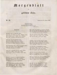 Morgenblatt für gebildete Leser, 1848, Dienstag, 25. Januar 1848, Nr 21.