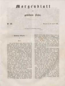 Morgenblatt für gebildete Leser, 1848, Mittwoch, 26. Januar 1848, Nr 22.
