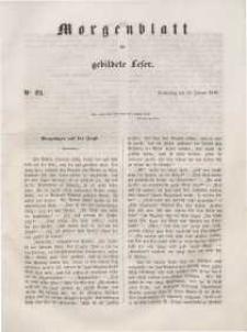 Morgenblatt für gebildete Leser, 1848, Donnerstag, 27. Januar 1848, Nr 23.