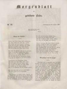 Morgenblatt für gebildete Leser, 1848, Sonnabend, 29. Januar 1848, Nr 25.