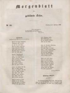 Morgenblatt für gebildete Leser, 1848, Dienstag, 8. Februar 1848, Nr 33.