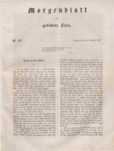 Morgenblatt für gebildete Leser, 1848, Sonnabend, 12. Februar 1848, Nr 37.