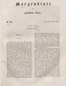 Morgenblatt für gebildete Leser, 1848, Freitag, 18. Februar 1848, Nr 42.
