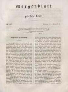 Morgenblatt für gebildete Leser, 1848, Donnerstag, 24. Februar 1848, Nr 47.