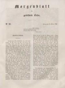 Morgenblatt für gebildete Leser, 1848, Freitag, 25. Februar 1848, Nr 48.
