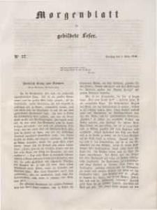 Morgenblatt für gebildete Leser, 1848, Dienstag, 7. März 1848, Nr 57.