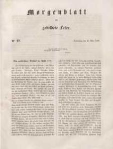 Morgenblatt für gebildete Leser, 1848, Donnerstag, 30. März 1848, Nr 77.