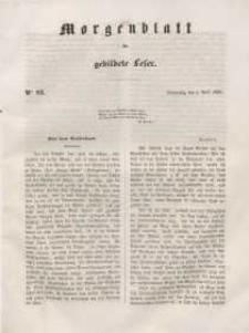 Morgenblatt für gebildete Leser, 1848, Donnerstag, 6. April 1848, Nr 83.
