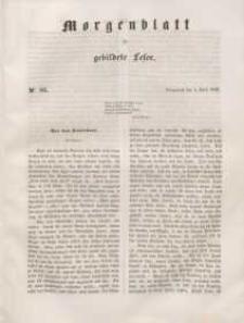 Morgenblatt für gebildete Leser, 1848, Sonnabend, 8. April 1848, Nr 85.