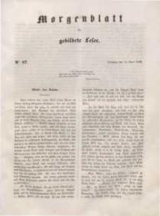 Morgenblatt für gebildete Leser, 1848, Dienstag, 11. April 1848, Nr 87.