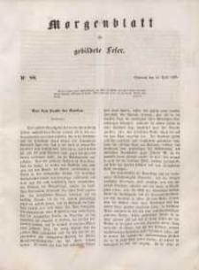 Morgenblatt für gebildete Leser, 1848, Mittwoch, 11. April 1848, Nr 88.
