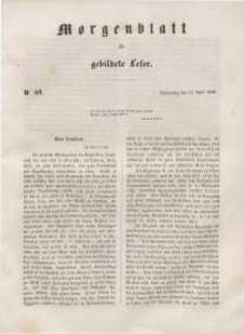 Morgenblatt für gebildete Leser, 1848, Donnerstag, 13. April 1848, Nr 89.