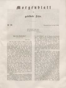 Morgenblatt für gebildete Leser, 1848, Sonnabend, 15. April 1848, Nr 91.