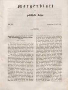 Morgenblatt für gebildete Leser, 1848, Dienstag, 18. April 1848, Nr 93.