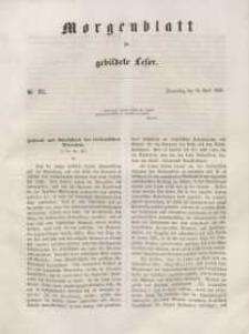 Morgenblatt für gebildete Leser, 1848, Donnerstag, 20. April 1848, Nr 95.