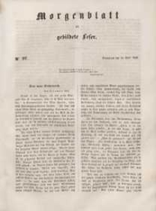Morgenblatt für gebildete Leser, 1848, Sonnabend, 22. April 1848, Nr 97.