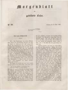 Morgenblatt für gebildete Leser, 1848, Dienstag, 25. April 1848, Nr 99.