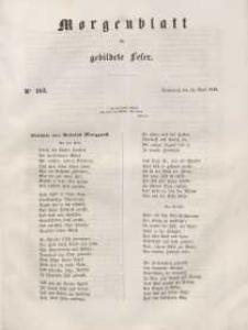Morgenblatt für gebildete Leser, 1848, Sonnabend, 29. April 1848, Nr 103.
