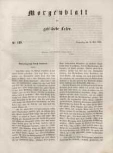 Morgenblatt für gebildete Leser, 1848, Donnerstag, 18. Mai 1848, Nr 119.