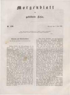 Morgenblatt für gebildete Leser, 1848, Mittwoch, 7. Juni 1848, Nr 136.