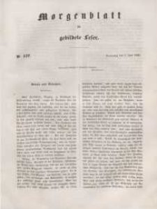 Morgenblatt für gebildete Leser, 1848, Donnerstag, 8. Juni 1848, Nr 137.