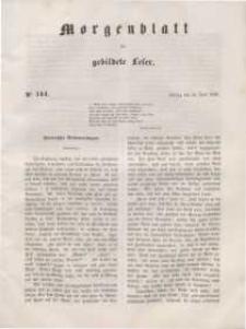 Morgenblatt für gebildete Leser, 1848, Freitag, 16. Juni 1848, Nr 144.