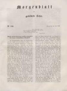 Morgenblatt für gebildete Leser, 1848, Freitag, 30. Juni 1848, Nr 156.