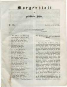 Morgenblatt für gebildete Leser, 1848, Sonnabend, 22. Juli 1848, Nr 175.