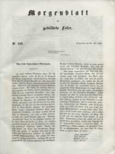 Morgenblatt für gebildete Leser, 1848, Sonnabend, 29. Juli 1848, Nr 181.