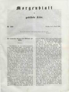 Morgenblatt für gebildete Leser, 1848, Dienstag, 8. August 1848, Nr 189.