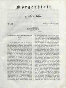 Morgenblatt für gebildete Leser, 1848, Donnerstag, 10. August 1848, Nr 191.