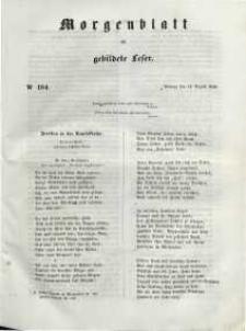 Morgenblatt für gebildete Leser, 1848, Montag, 14. August 1848, Nr 194.