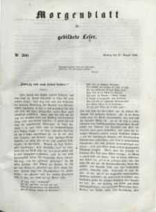 Morgenblatt für gebildete Leser, 1848, Montag, 21. August 1848, Nr 200.