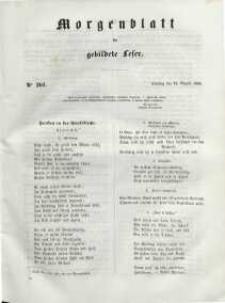 Morgenblatt für gebildete Leser, 1848, Dienstag, 22. August 1848, Nr 201.