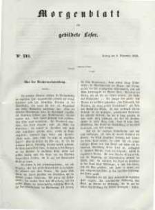 Morgenblatt für gebildete Leser, 1848, Freitag, 8. September 1848, Nr 216.