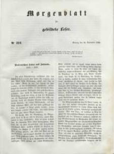 Morgenblatt für gebildete Leser, 1848, Montag, 18. September 1848, Nr 224.
