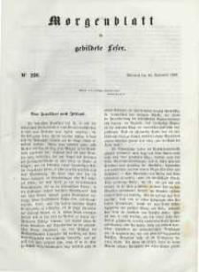 Morgenblatt für gebildete Leser, 1848, Mittwoch, 20. September 1848, Nr 226.