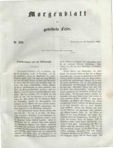 Morgenblatt für gebildete Leser, 1848, Donnerstag, 28. September 1848, Nr 233.