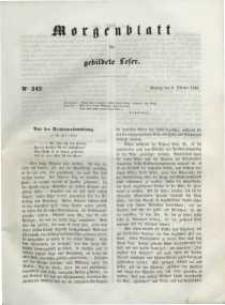 Morgenblatt für gebildete Leser, 1848, Montag, 9. October 1848, Nr 242.