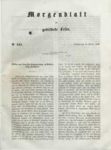 Morgenblatt für gebildete Leser, 1848, Dienstag, 10. October 1848, Nr 243.
