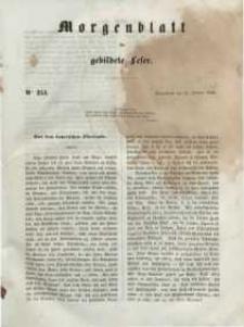 Morgenblatt für gebildete Leser, 1848, Sonnabend, 21. October 1848, Nr 253.