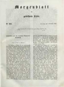 Morgenblatt für gebildete Leser, 1848, Donnerstag, 2. November 1848, Nr 263.